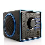 Tragbarer Speaker / Portabler Lautsprecher / Audio Box für Smartphone Tablet Handy (Android und Apple) MP3 MP4 Computer PC Laptop und mehr - von GOgroove