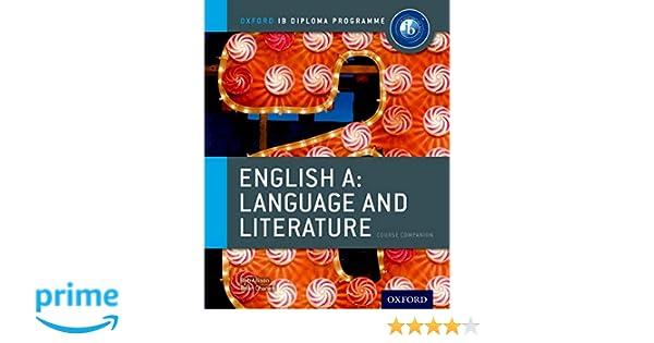 Buy Oxford IB Diploma Programme: IB English A Language and