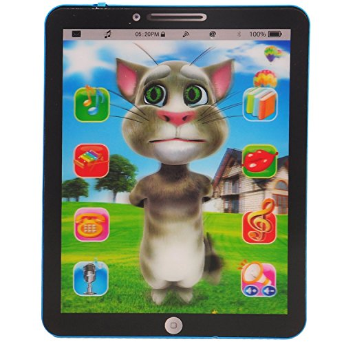 TOYKART Talking Cat Interactive Learning Educational Tablet for Kids