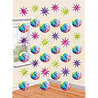 amscan 70s Disco Strings Decorations 2.1m