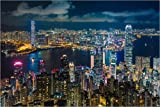 Poster 120 x 80 cm: Hongkong 10 von Tom Uhlenberg -