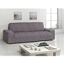 Funda bielastica para sofá Ikea Kivik 3 plazas color blanco-negro