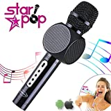 STARPOP Micrófono Inalámbrico Karaoke con Altavoz Portátil...