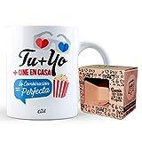 Taza Tu + Yo + Cine en Casa