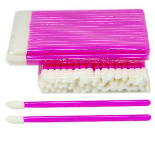 100 Stück Reinigungsstäbchen für die Wimpernverlängerung - Microblading - Microfaser und...