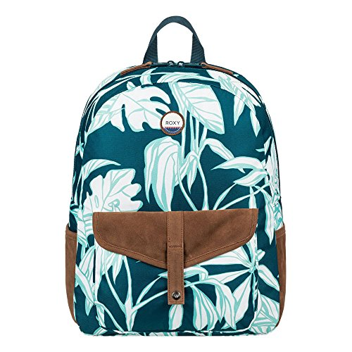Roxy Carribean Mochila tipo casual, 40 cm, 18 litros, Reflecting Pond