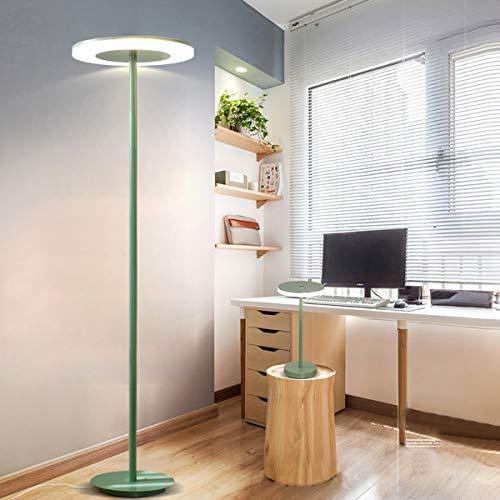 LAMPES DE SOL LED ZXC YWXLight Lampadaire Macaron Simple (Couleur : Green)