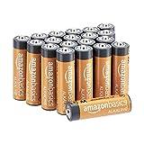 AmazonBasics - Batterie alcaline AA 1.5 Volt, Performance, confezione da 20 (l'aspetto potrebbe variare dall'immagine)