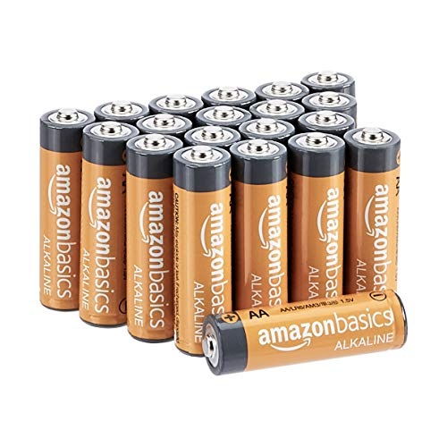 Oferta de Amazon Basics - Pilas alcalinas AA de 1,5 voltios, gama Performance, paquete de 20 (el aspecto puede variar)