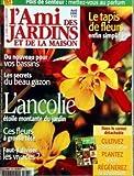 AMI DES JARDINS ET DE LA MAISON (L') N? 873 du 01-04-2000 LE TAPIS DE FLEURS - POIS DE SENTEUR - DU NOUVEAU POUR VOS BASSINS - LES SECRETS DU BEAU GAZON - L'ANCOLIE - CES FLEURS A GROSSE TETE - FAUT-IL DIVISER LES VIVACE...