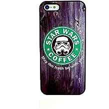 Phone Kandy® Star Wars Caso de Shell duro de la piel y la pantalla del protector para carcasa funda (iPhone 5c, May The Froth Be With You)