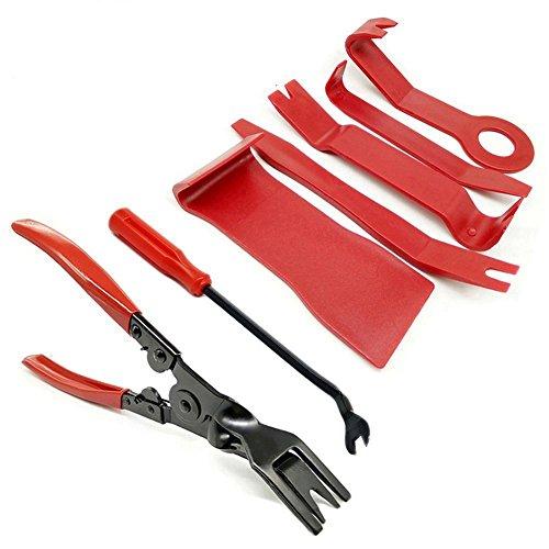 ottimo set di strumenti per rimozione scocche e plastiche dell'auto