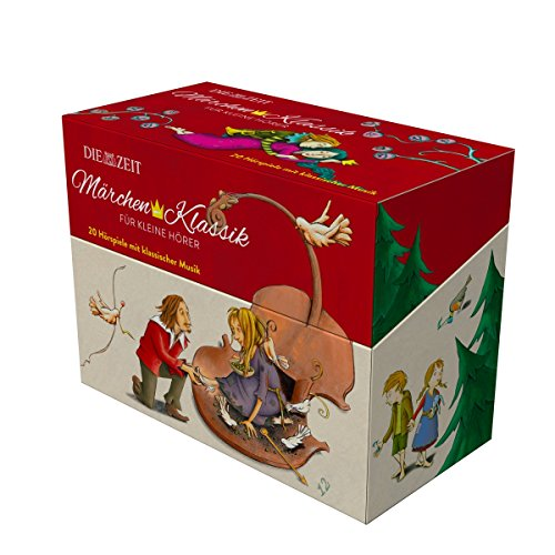 Märchen-Klassik für kleine Hörer, 10 CD-Box mit Ausmalbuch (Märchen-Klassik für kleine Hörer Die ZEIT-Edition)