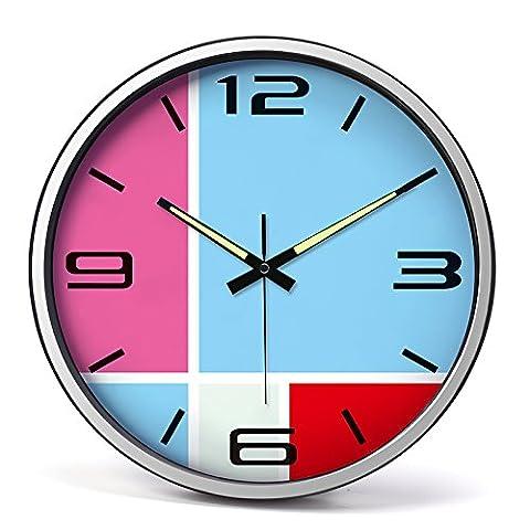 Horloge murale Horloge Fashion art 14 cm horloge murale mute
