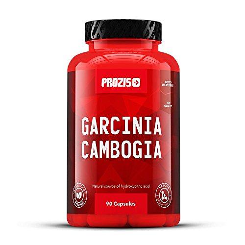 Prozis 100% Extracto puro de Garcinia Cambogia 90 Cápsulas 1500mg, Suplemento de HCA