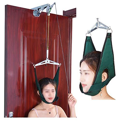 Gxnimer Over Door Cervical Traction Kit, Hals-Dekompressions-Home-Gerät Für Orthopädische Physiotherapie-Set (Traction Kit Cervical)