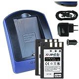 2 Batteries + Chargeur (USB/Auto/Secteur) pour EN-EL9 ENEL9 / Nikon D40, D40x, D60, D3000, D5000