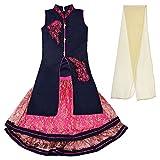 Arshia Fashions Girls Lehenga Choli taff...