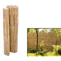 bambusmatte split 150 x 300cm sichtschutzmatten aus gespaltenem bambus bambusmatten sichtschutz balkon terasse garten