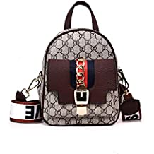 WOAIRAN Bolso De Moda Mujer Vintage Handbag Señoras Ocio Carta Impresión Multifunción ...
