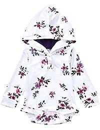 3a1549473 ALIKEEY Recien Nacido Bebe Niños Niñas Ropa De Niños Ropa Sudadera Floral  Mameluco Overol NiñO Verano