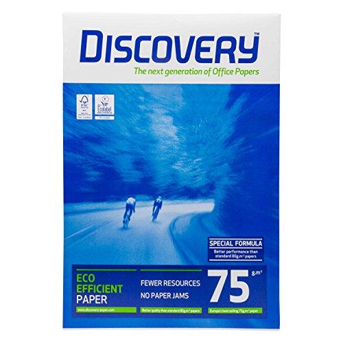 DISCOVERY 83427B75B Kopierpapier, A3, holzfrei, 75 g/qm, 500 Blatt, weiß