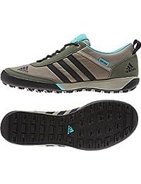 buy online 40041 1e305 Adidas Daroga exterior liso lona de excursión el zapato - Arcilla   negro    verde de