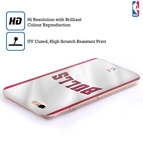 Offizielle NBA Zerstört Chicago Bulls Soft Gel Hülle für Apple iPhone 6 Plus / 6s Plus Trikot