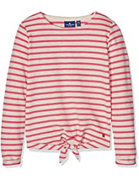 Tom Tailor Striped Sweatshirt with Knot, Sweat-Shirt Fille