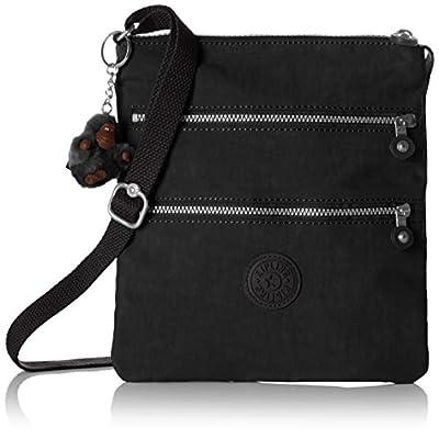 Kipling Women's NEW RIZZI Cross-Body Bag, Black, 21x23x2.5 cm