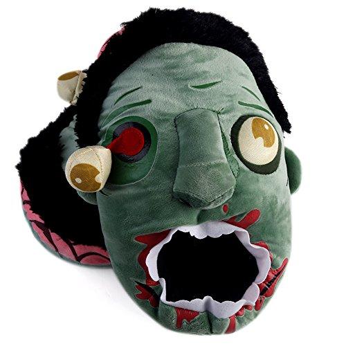 Zombie Plüsch-Pantoffeln Monster Plüsch Hausschuh Einheitsgröße Horror (Monster Schuhe)