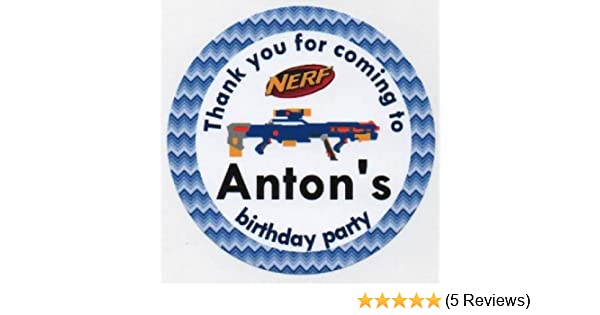 PERSONALISED GLOSS STAR WARS BIRTHDAY PARTY BAG LABELS SWEET CONE STICKERS