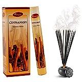 Aromatika - Varillas de Incienso (Aroma a Canela, 6 Paquetes de 120 Varillas)