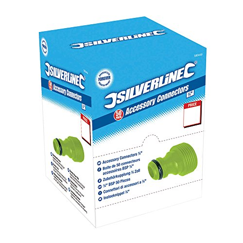 Silverline 580449 Boîte présentoir de 50 raccords 3/4\