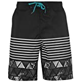 Hot Tuna Hombre Dive Shorts Pantalones Cortos Ropa Vestir Casual Entrenar Negro x-Large