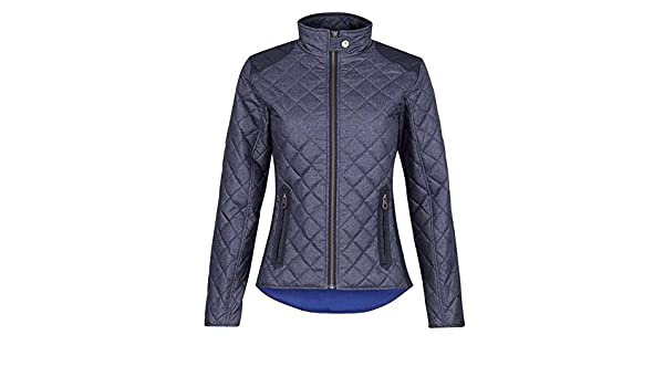 Jack Murphy Womens Amel Quilted Jacket Lightweight Equestrian Full ... : jack murphy quilted jacket - Adamdwight.com