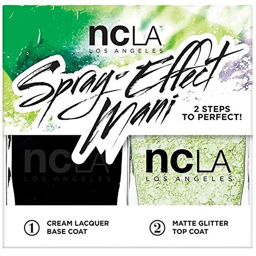 NCLA Night Rider Spray-Effect Mani Duo Kit by NCLA -