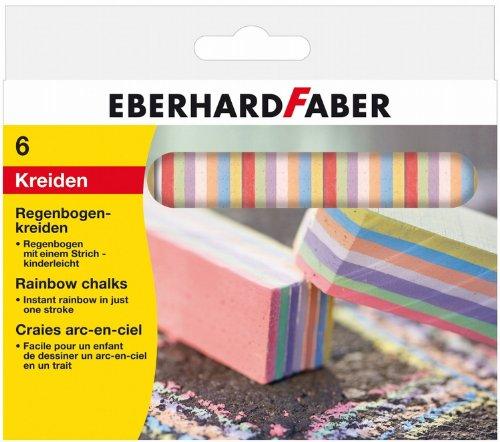 Eberhard Faber 526500 - Regenbogenkreide 6er, Kartonetui