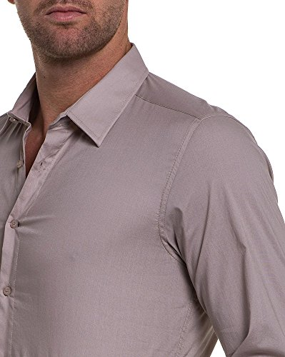 BLZ jeans - Chemise beige longues manches Beige