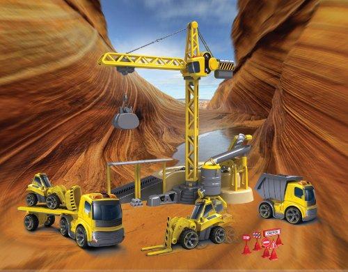 RC Auto kaufen Baufahrzeug Bild 2: 81117 Silverlit Kran mit Sound ferngesteuert Infrarot ohne Kabel*