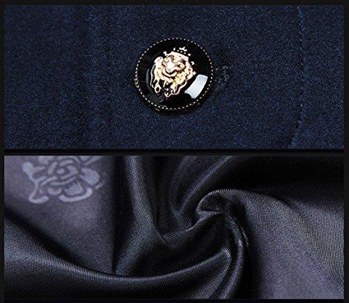 Insun -  Cappotto  - Maniche lunghe  - Uomo Navy