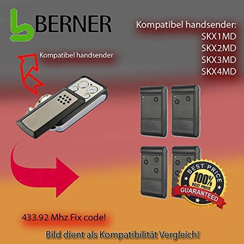 Handsender 433,92 MHz für TEDSEN SKX1MD, SKX2MD, SKX3MD, SKX4MD Antriebe