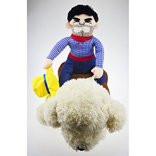 Imagen de m&a ropa disfraz jersey chaqueta para mascota perro gato vaquero s alternativa