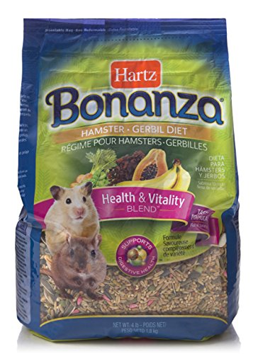 Bonanza Hamster, Guinea Pig, And Rabbit Food Diet-4LB HAMSTER&GERBIL FOOD