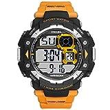 Adisaer Uhr Herren Wasserdicht Digitale Uhr Herrenuhr Orange Outdoor Sportuhr Armbanduhr Automatikuhr