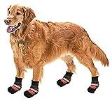 Pistachio Pet Regenstiefel für Hunde, mit rutschfester Sohle