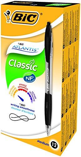bic-atlantis-clic-ball-pen-10mm-box-of-12-black