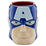 #6: Limited Edition Premium Captain America Classic Avengers Ceramic Sculpted Coffee Mug 3D With Box Marvel~