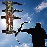 Hemore Armschutz Camouflage Bogenschützer Armschutz Schießen Compound Bogen für Outdoor