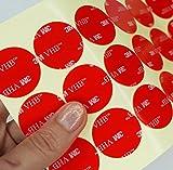 Simply the Best CLEAR - Cinta adhesiva de círculos de puntos redondos de - Best Reviews Guide
